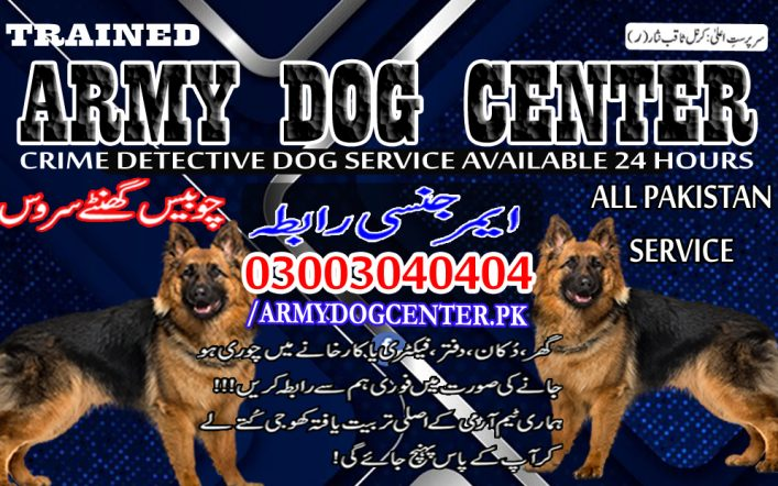 Attock Army Dog Center 03003040404 Emergency Call All Pakistan